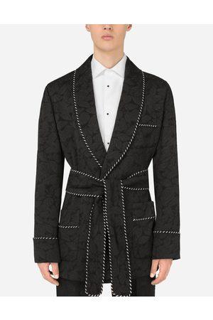 Dolce & Gabbana Cappotti e Giacche - Giacca vestaglia jacquard floreale male 46