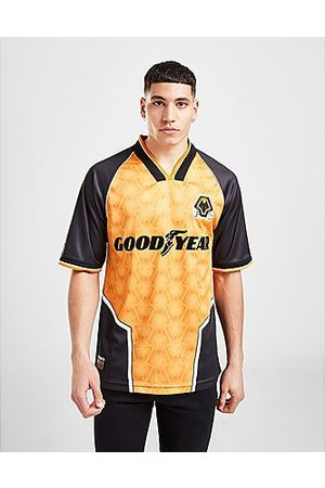 Score Draw Uomo Camicie - Wolverhampton Wanderers FC '96 Home Retro Shirt
