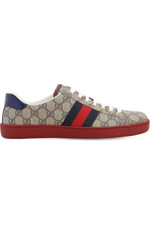 "Gucci Uomo Sneakers - Sneakers ""ace Gg Supreme"" In Tessuto 25mm"