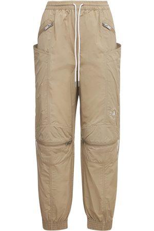 Stella McCartney Donna Pantaloni - Pantaloni Oversize In Cotone E Techno