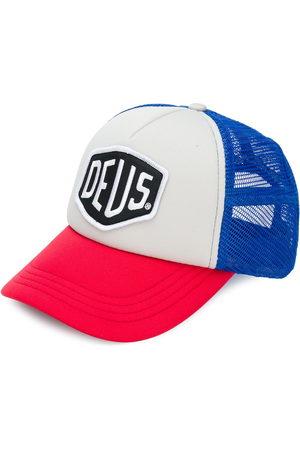 Deus Ex Machina Cappello da baseball con applicazione frontale e design color block
