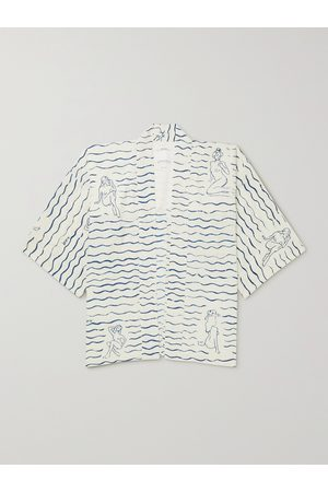 VISVIM Uomo Giacche - Happi Printed Woven Shirt Jacket