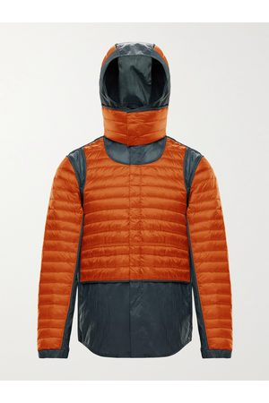 Moncler Genius Uomo Giacche estive - 5 Moncler Craig Chrysemys Panelled Quilted Nylon Hooded Down Jacket