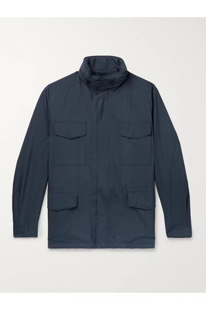 Loro Piana Uomo Giacche estive - Traveller Windmate Storm System Shell Hooded Field Jacket
