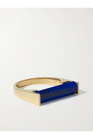 LUIS MORAIS Uomo Anelli - 14-Karat Gold and Lapis Lazuli Ring