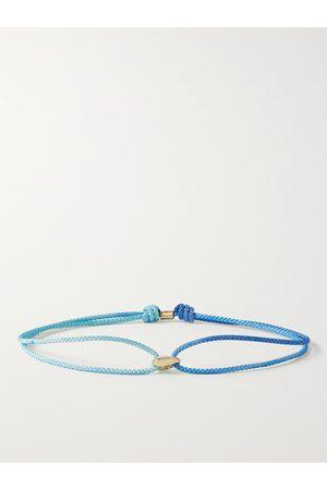 LUIS MORAIS Uomo Bracciali - 14-Karat Gold and Cord Bracelet
