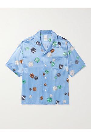 VISVIM Uomo Casual - Wallis Camp-Collar Printed Satin Shirt