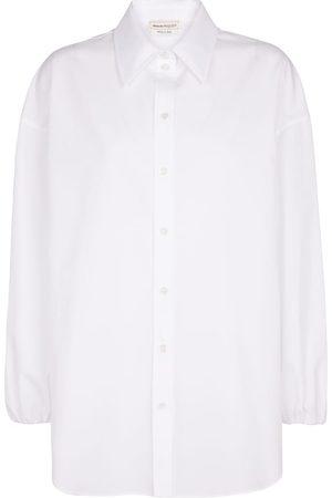 Alexander McQueen Camicia in popeline di cotone