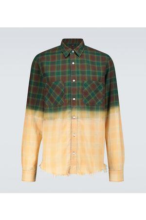 AMIRI Uomo Camicie - Camicia Bleached in flanella