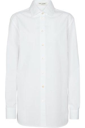 Saint Laurent Donna Camicie - Camicia oversize in popeline di cotone