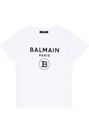 Balmain Bambina T-shirt - T-shirt in cotone con stampa