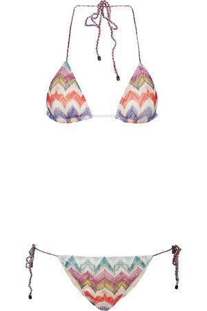 Missoni Donna Bikini - Bikini a triangolo in maglia