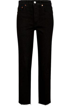 RE/DONE Donna Jeans a vita alta - Jeans slim Stove Pipe a vita alta