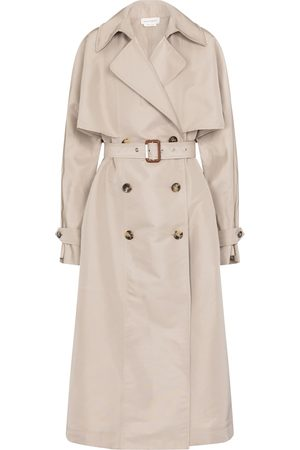 Alexander McQueen Donna Impermeabili - Trench oversize