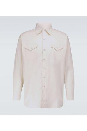 WINNIE N.Y.C Uomo Camicie - Camicia Western in cotone