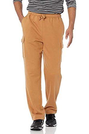 Amazon Essentials Uomo Cargo - Cargo Fleece Sweatpant Pantaloni da Tuta, Chiaro, S