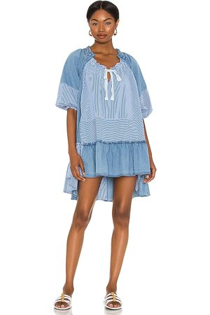Free People Keegan Tunic in - Blue. Size L (also in XS, S, M).