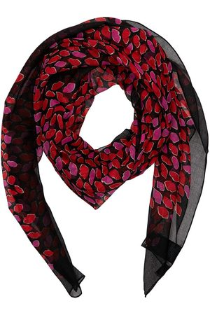 Saint Laurent Grand Carré Wool Scarf