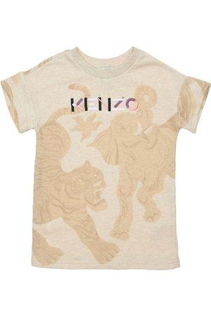 Kenzo Bambina Vestiti stampati - Vestito In Cotone Stampato
