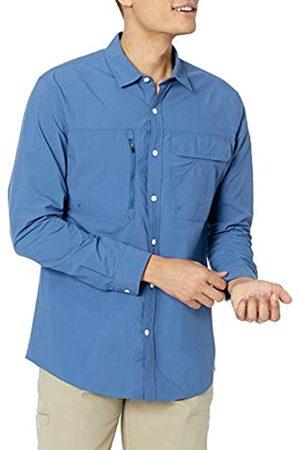 Amazon Camicia da Trekking a Maniche Lunghe con vestibilità Regolare Athletic-Shirts, , XS
