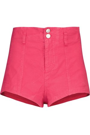 Isabel Marant Donna Pantaloncini - Shorts Deverson in lino e cotone