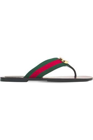Gucci Sandali Web Gg 10mm