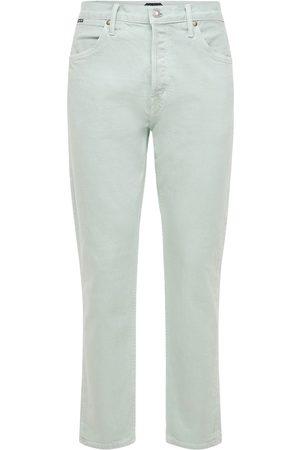 Tom Ford Uomo Affusolati - Pantaloni Tapered Fit Comfort In Denim