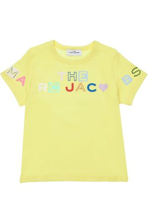 Marc Jacobs T-shirt In Jersey Di Cotone Con Logo