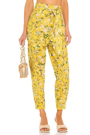 AMUR Donna Cargo - Lisette Cargo Pant in - Mustard. Size L (also in XS, S, M).