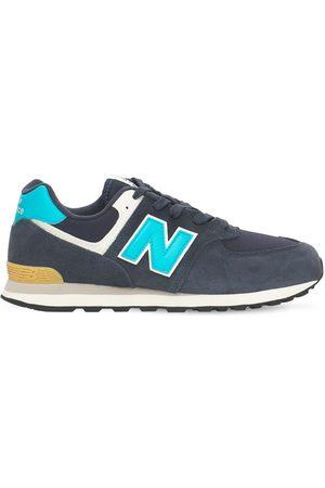 "New Balance Bambino Sneakers - Sneakers ""574"" In Camoscio E Rete"