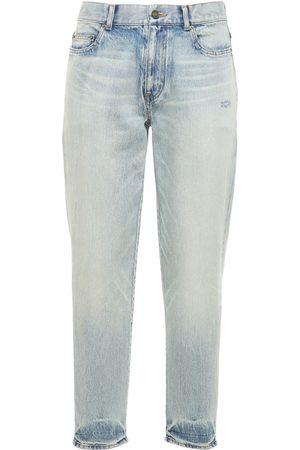 Saint Laurent Jeans Dritti In Denim