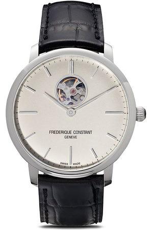 Frederique Constant Uomo Orologi - Orologio Slimline Heart Beat Automatic 40mm - WHITE
