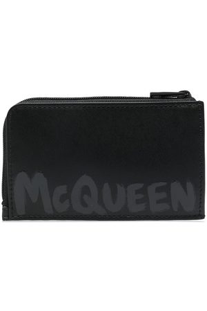 Alexander McQueen Portafoglio con stampa