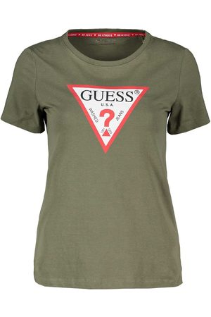 Guess Donna T-shirt - T-SHIRT LOGO ICON DONNA