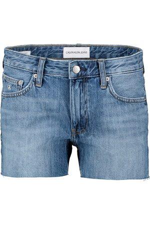 Calvin Klein Donna Pantaloncini - SHORT IN DENIM VITA MEDIA DONNA