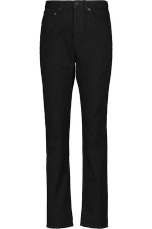 Saint Laurent Jeans slim a vita alta