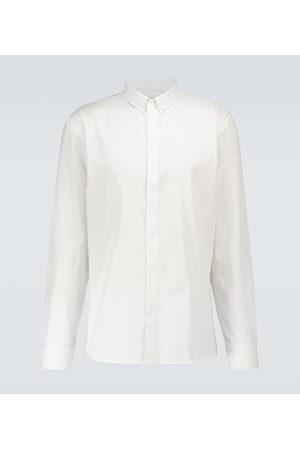 Balmain Camicia in cotone con monogramma
