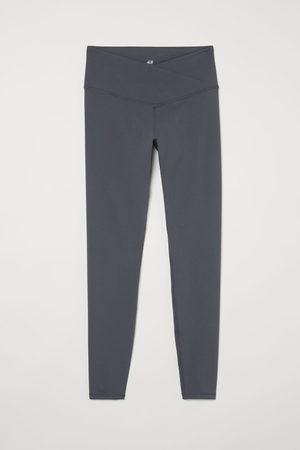 H&M Leggings sportivi con incrocio