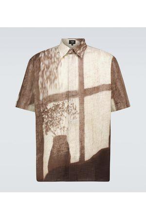 Fendi Camicia in cotone con stampa
