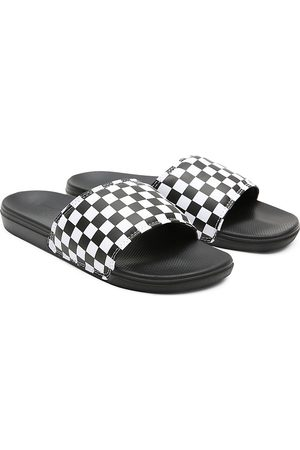 Vans Ciabatte Uomo Checkerboard La Costa ((checkerboard) True White/black) Uomo