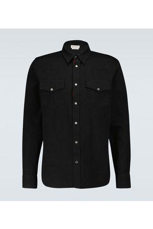 Alexander McQueen Camicia di jeans