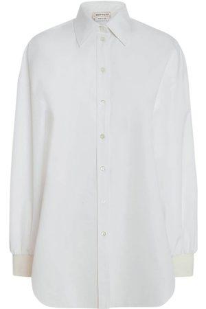 Alexander McQueen Camicia In Popeline