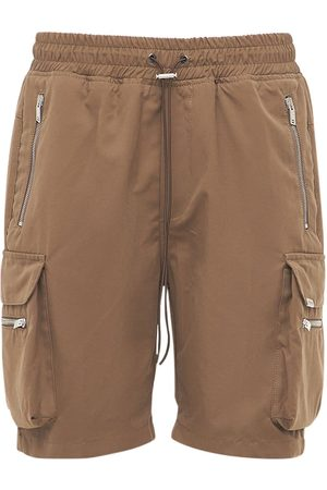 Represent Shorts Cargo Military In Cotone