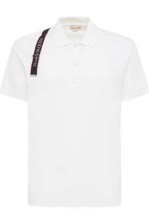 Alexander McQueen Polo In Cotone Con Logo