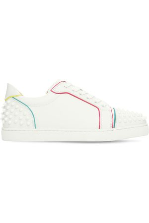 """Christian Louboutin Donna Sneakers - Sneakers """"vieira 2"""" In Pelle 20mm"""