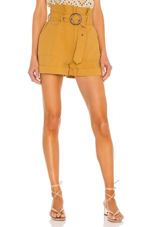 MINKPINK Riley Paperbag Utility Short in - . Size L (also in S, XS, M).