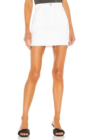Hudson Jeans Donna Gonne - The Viper Skirt in - White. Size 23 (also in 24, 25, 26, 27, 28, 30, 31, 32).