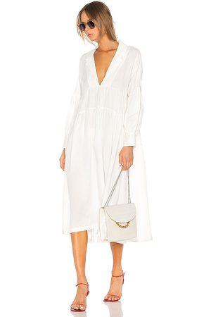 L'Academie The Celina Midi Dress in - . Size L (also in XXS, XS, S, M, XL).