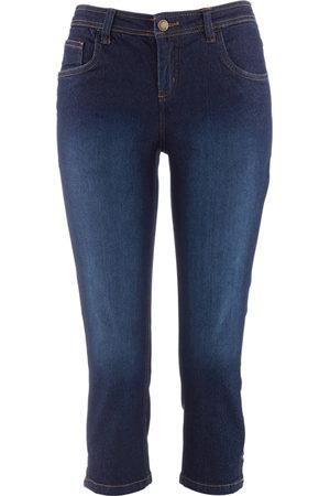 John Baner JEANSWEAR Jeans capri elasticizzati comfort