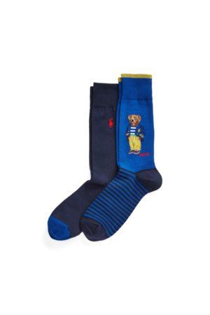 Polo Ralph Lauren Uomo Intimo sportivo - Due paia di calze sportive con Polo Bear